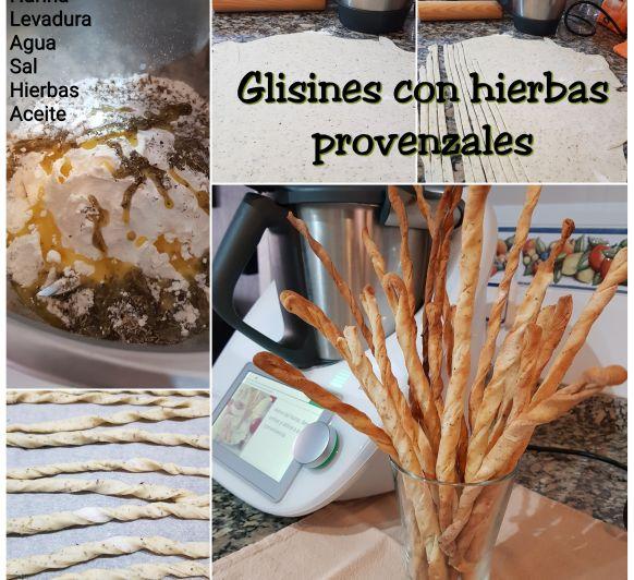Glisines con queso parmesano