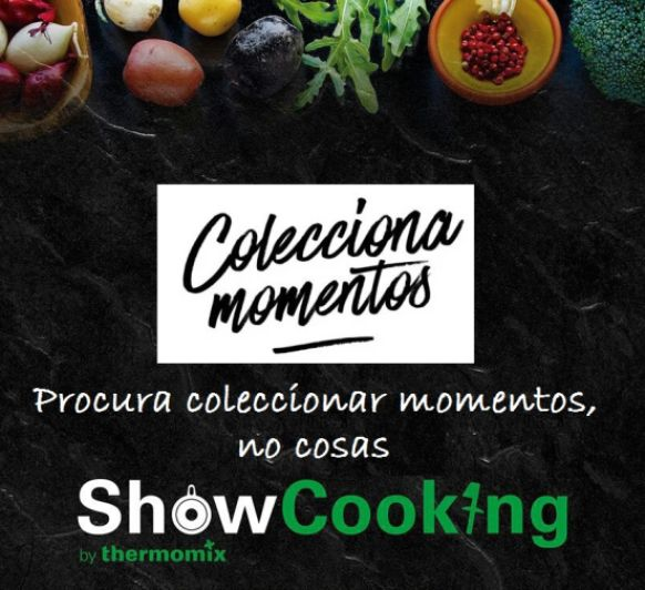 Show Cooking by Thermomix® Coleccionando Momentos