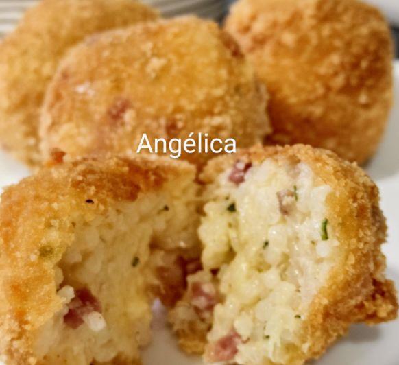 Croquetas sin gluten de arroz con parmesano con Thermomix®