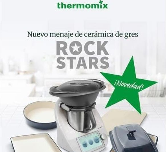 SE UNA AUTENTICA ROCKSTARS CON Thermomix®