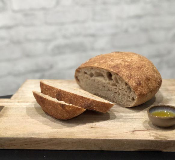 Pan rústico con espelta