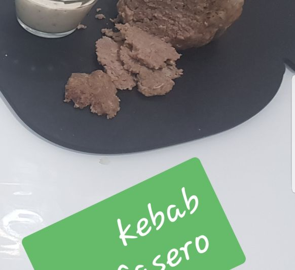 KEBAB casero