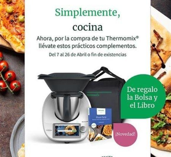 SIMPLEMENTE COCINA, Thermomix® +BOLSA Y LIBRO REGALO