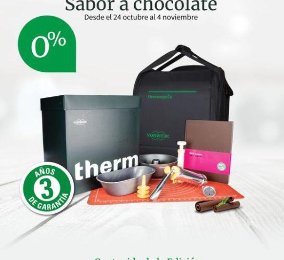 Thermomix® TM6 SIN INTERESES con 3 años de garantía con sabor a chocolate