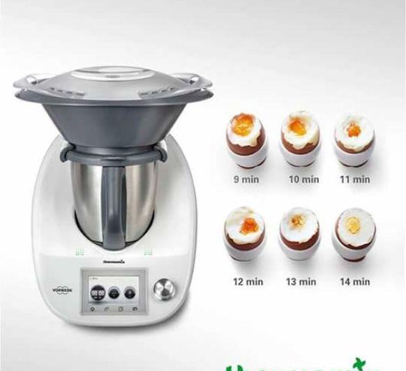 Cocer huevos en Thermomix®