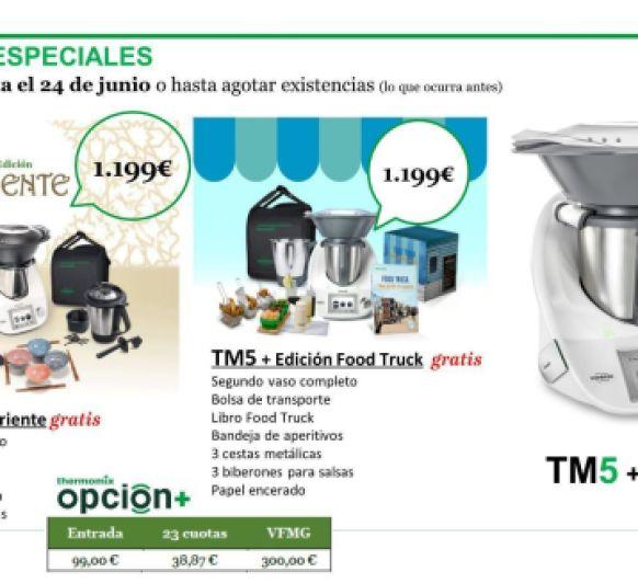Thermomix® OPCION + DOBLE VASO EDICION ORIENTE Y FOOD TRUCK