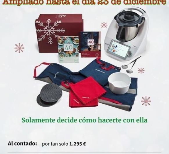 Has pedido tu Thermomix® a Papá Noel?