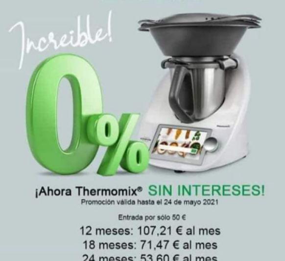 FINANCIACIÓN Thermomix® TM6 AL 0% INTERESES