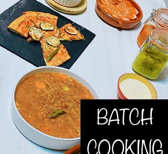 DESCUBRE EL BATCH COOKING, una nueva forma de organizar tu alimentación