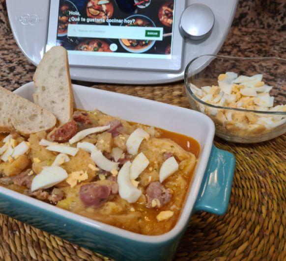 Mi sopa castellana con Thermomix®