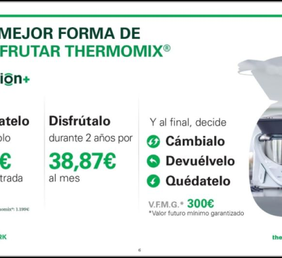 Thermomix® OPCION +