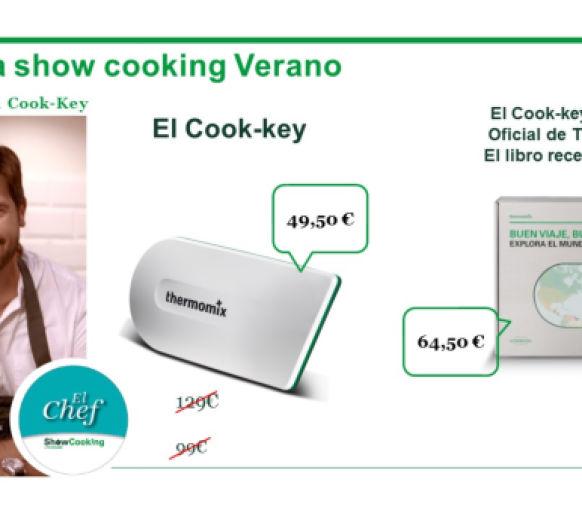 ORGANIZA UN SHOW COOKING Y CONSIGUE TU COOKI TAN SOLO POR 49€
