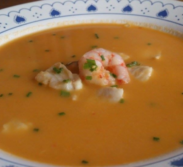 Sopa de pescado o...sopa inesperada